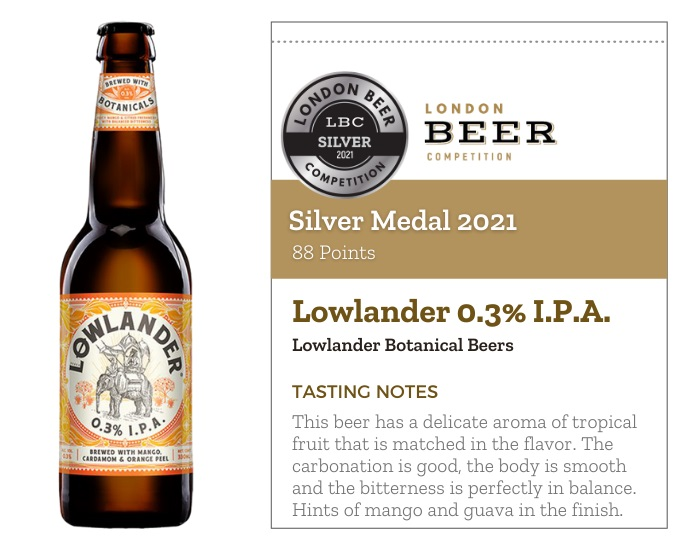 Lowlander 0.3% I.P.A.