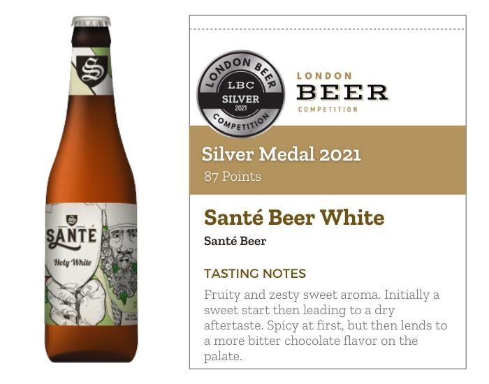 Santé Beer White