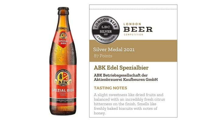 ABK Edel Spezialbier by Aktienbrauerei Kaufbeuren