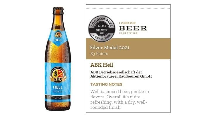 ABK Hell by Aktienbrauerei Kaufbeuren