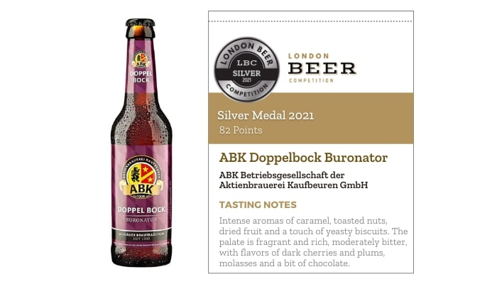 ABK Doppelbock Buronator by Aktienbrauerei Kaufbeuren
