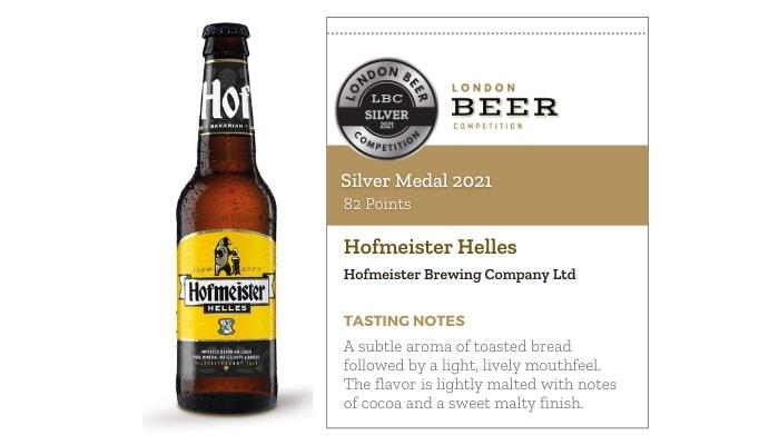 Hofmeister Helles by Hofmeister Brewing Company