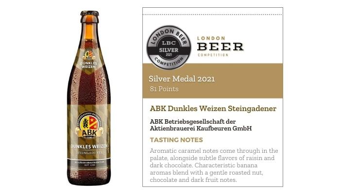 ABK Dunkles Weizen Steingadener by Aktienbrauerei Kaufbeuren