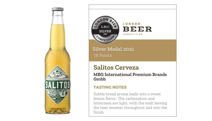 Salitos Cerveza by MBG International Premium Brands Gmbh