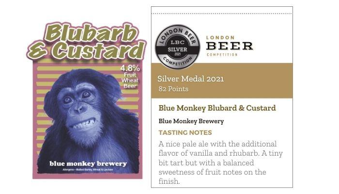 Blue Monkey Blubarb & Custard by Blue Monkey Brewery