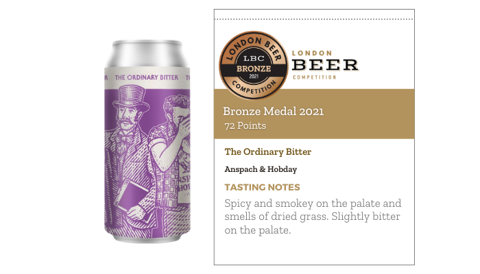 The Ordinary Bitter by Anspach & Hobday