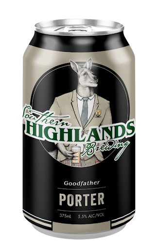 Goodfather Porterby Southern Highlands Brewing