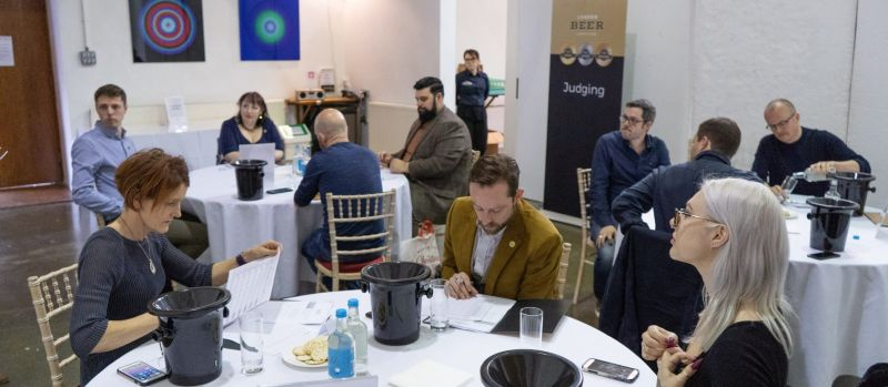 Photo for: London Beer Competition Fizzes With Another Effervescent Judging Day